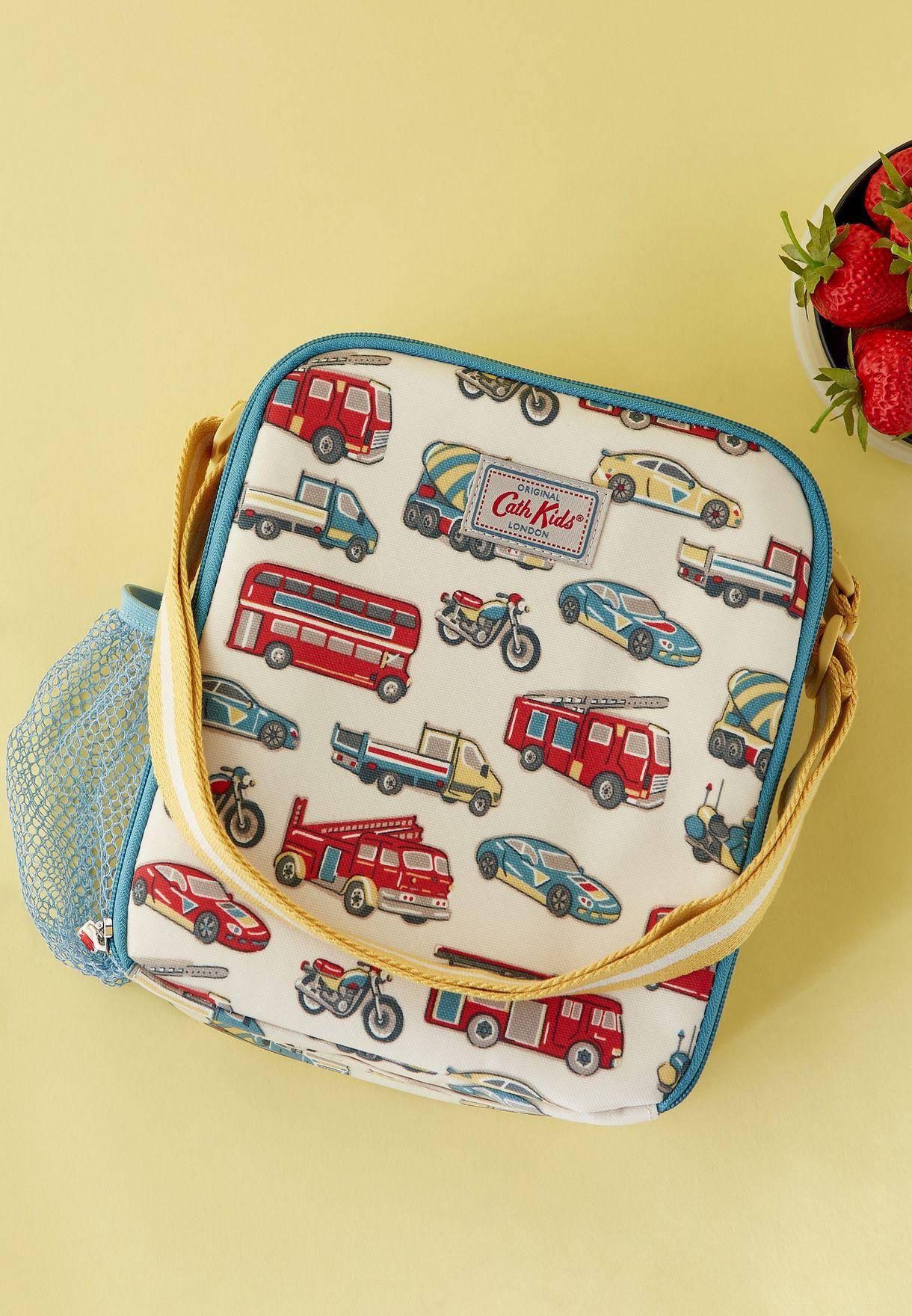 Kids Toy Traffic Lunch Bag