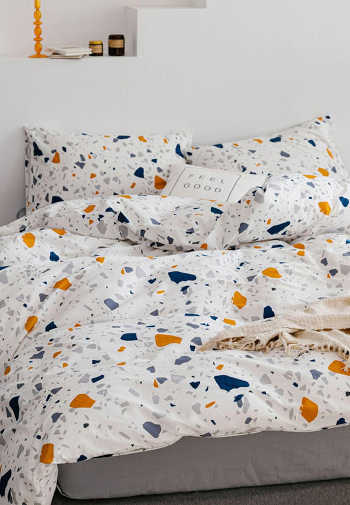 طقم سرير 4 قطع - كينغ 200 x 230 سم