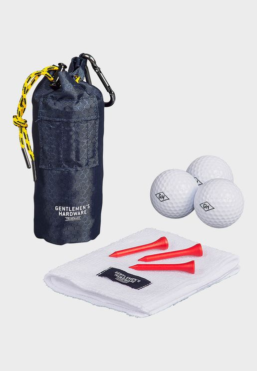 Golfer's Accessory Set With Bag
