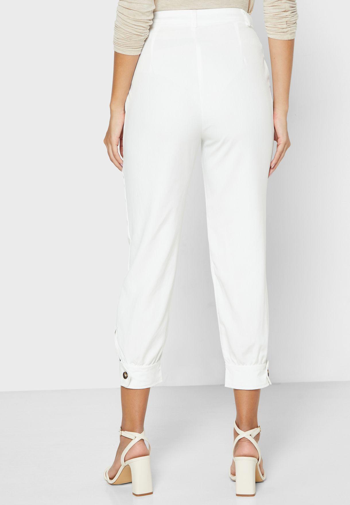 Tailored Cuffed Pants