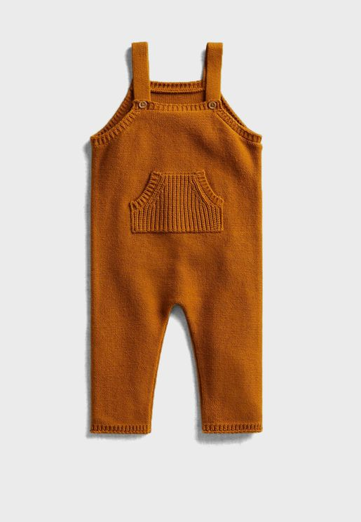Infant Pocket Detail Dungaree
