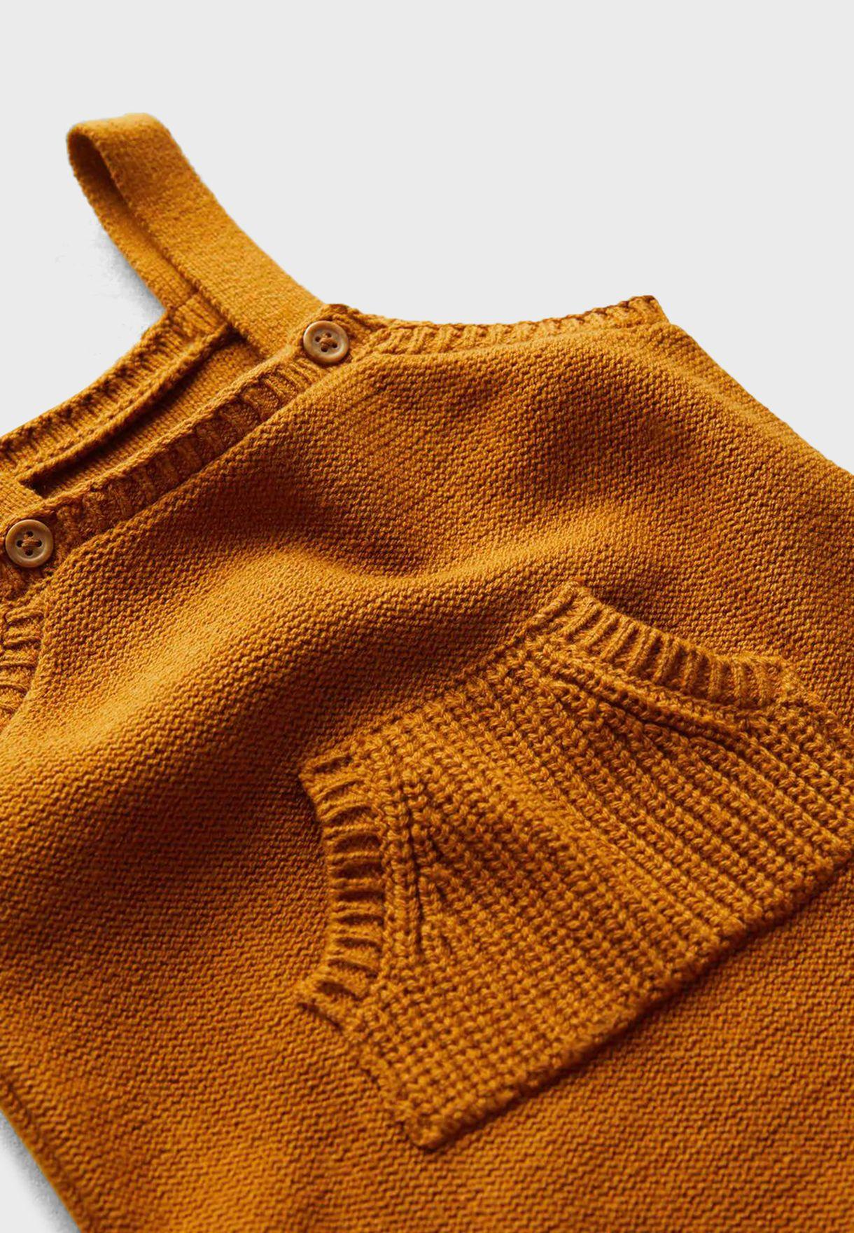 Infant Pocket Detail Dungaree