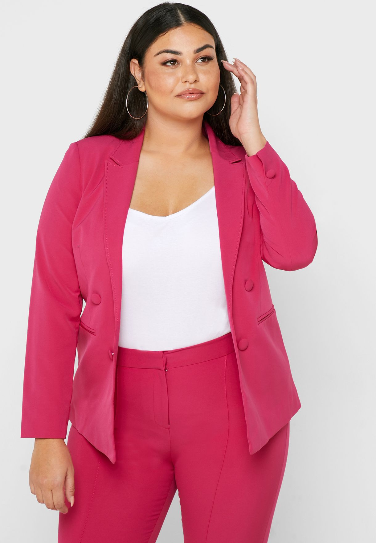 Double Breasted Blazer Co-ord