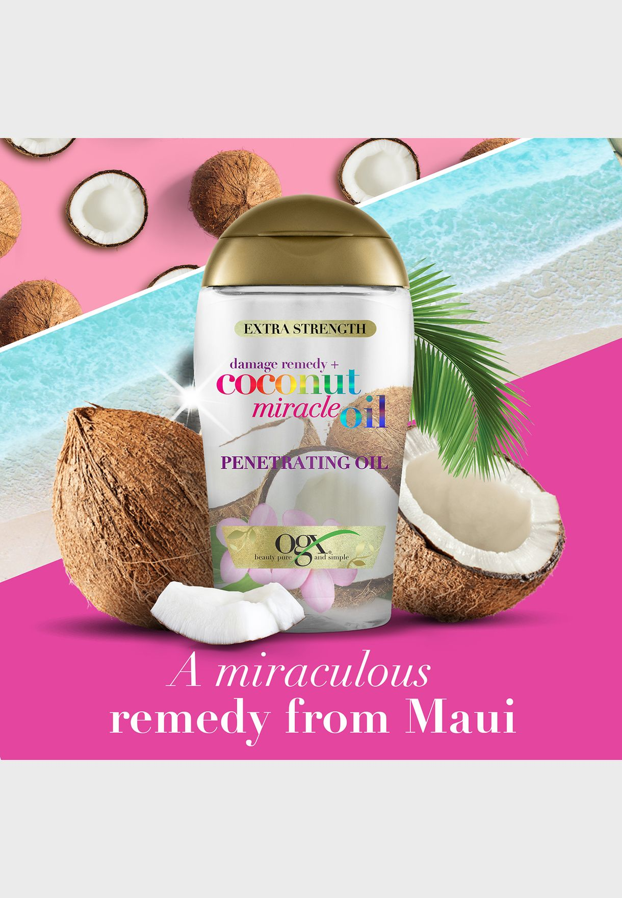 Damage Remedy+ Coconut Miracle Hair Oil 100ml