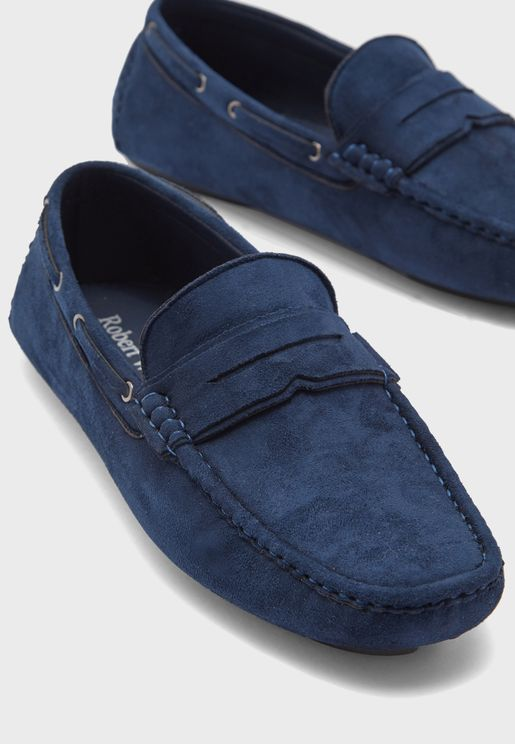 Comfort Faux Suede Loafers