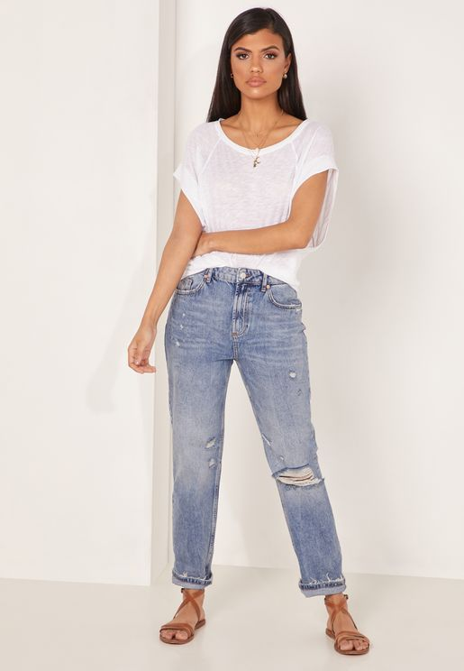 جينز مشقق