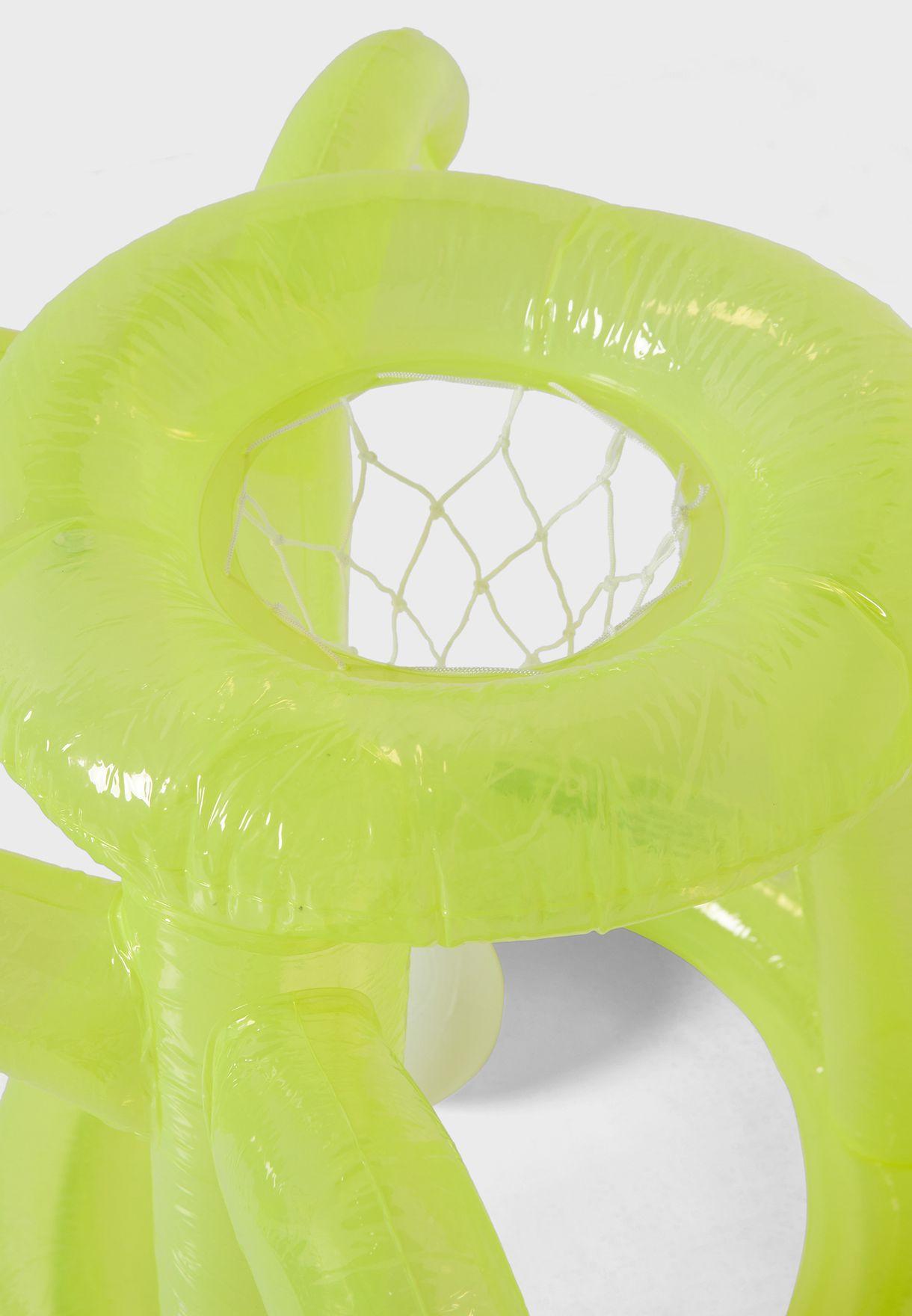 Inflatable Float Away Basketball Set