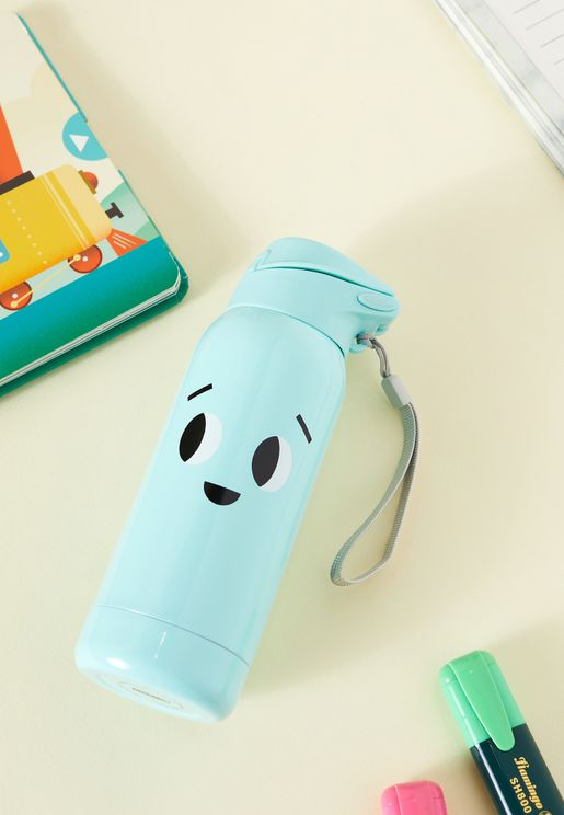 Smile Face Water Bottle