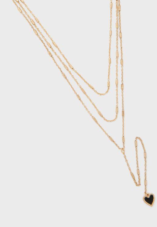 Pendant Set Of 3 Necklaces