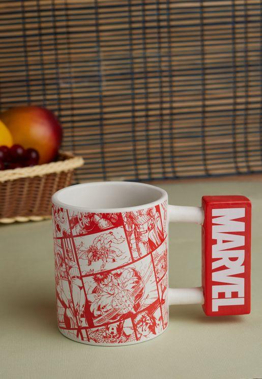 Marvel Logo Shaped Mug