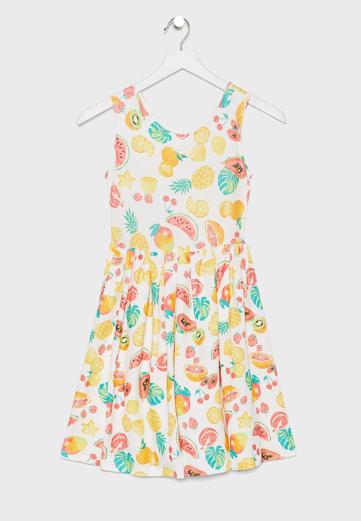 Teen Jacquard Dress