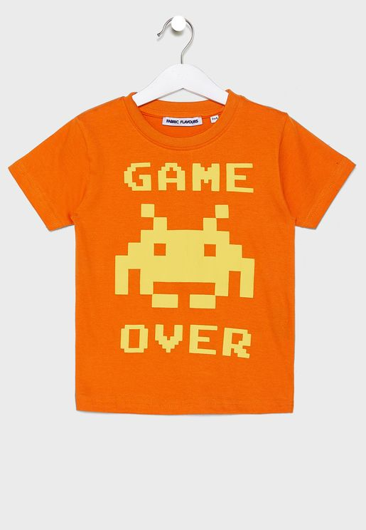 Kids Game Over T-Shirt