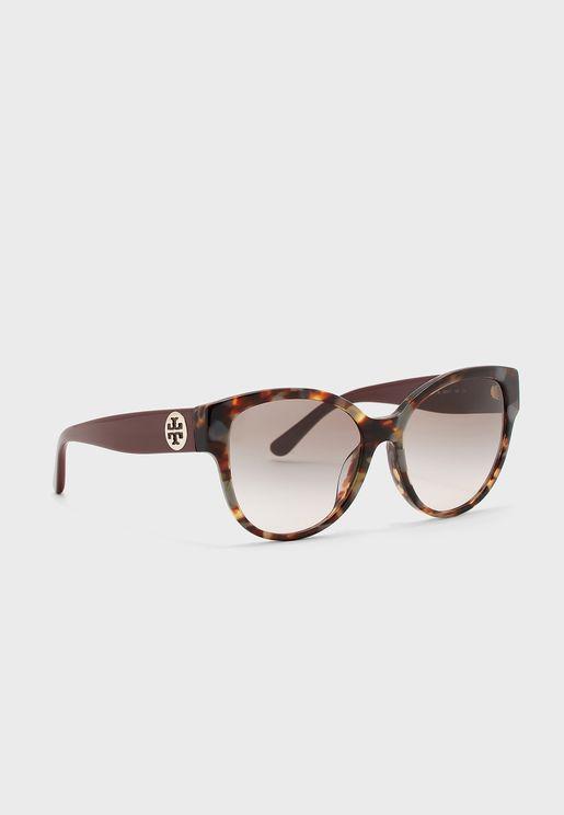 0TY7155U Cat Eye Sunglasses