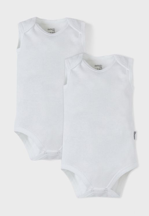 Infant 2 Pack Essential Rompers