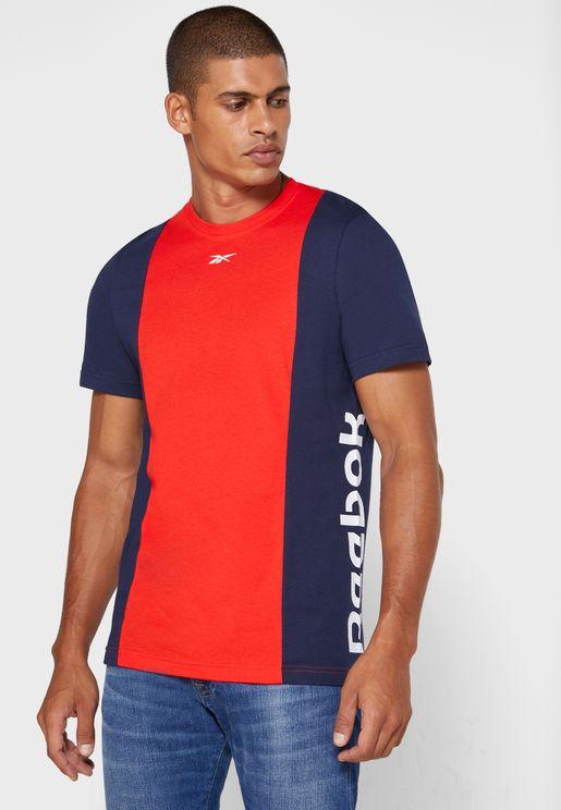 Training Essential Linear Colour Block T-Shirt