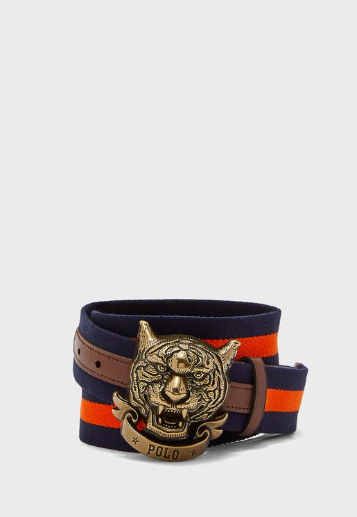 Tiger Allocated Hole Belt