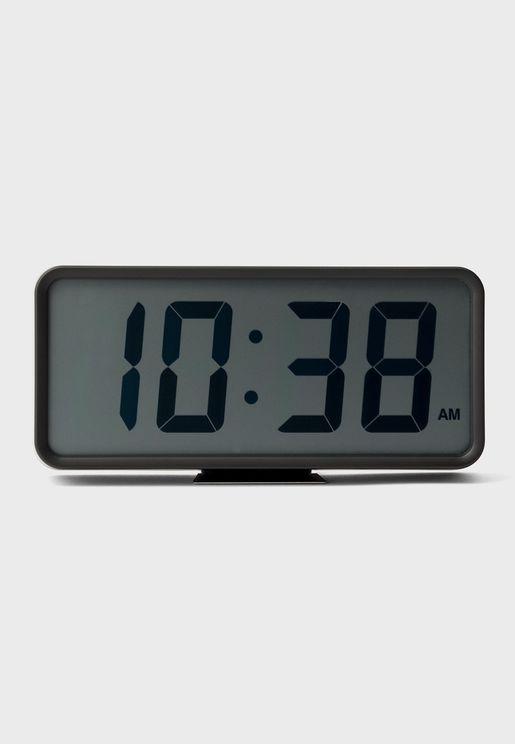 ساعة رقمية مع شاشة LCD