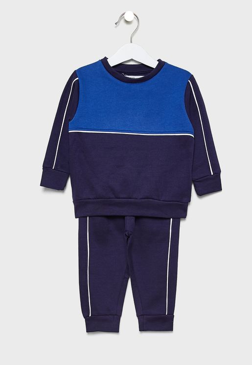 Little Color Block Tracksuit