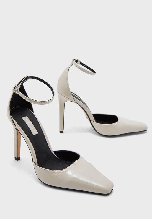 Ankle Strap High Heel Pump
