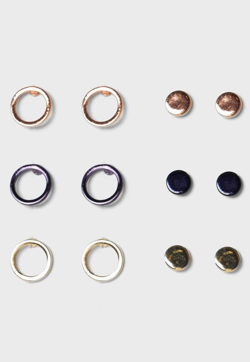 Multipack Stud Earrings