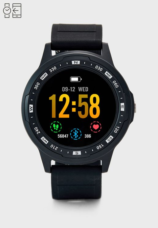 Smart Watch With GPS and Heart Rate Sensor
