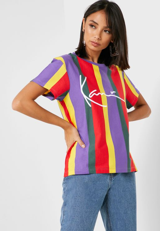 Signature Stripe T-Shirt