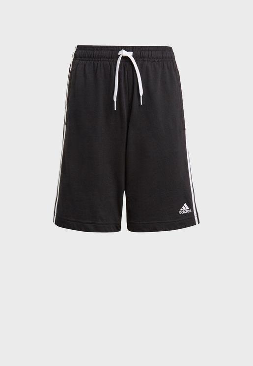 Youth 3 Stripe Shorts