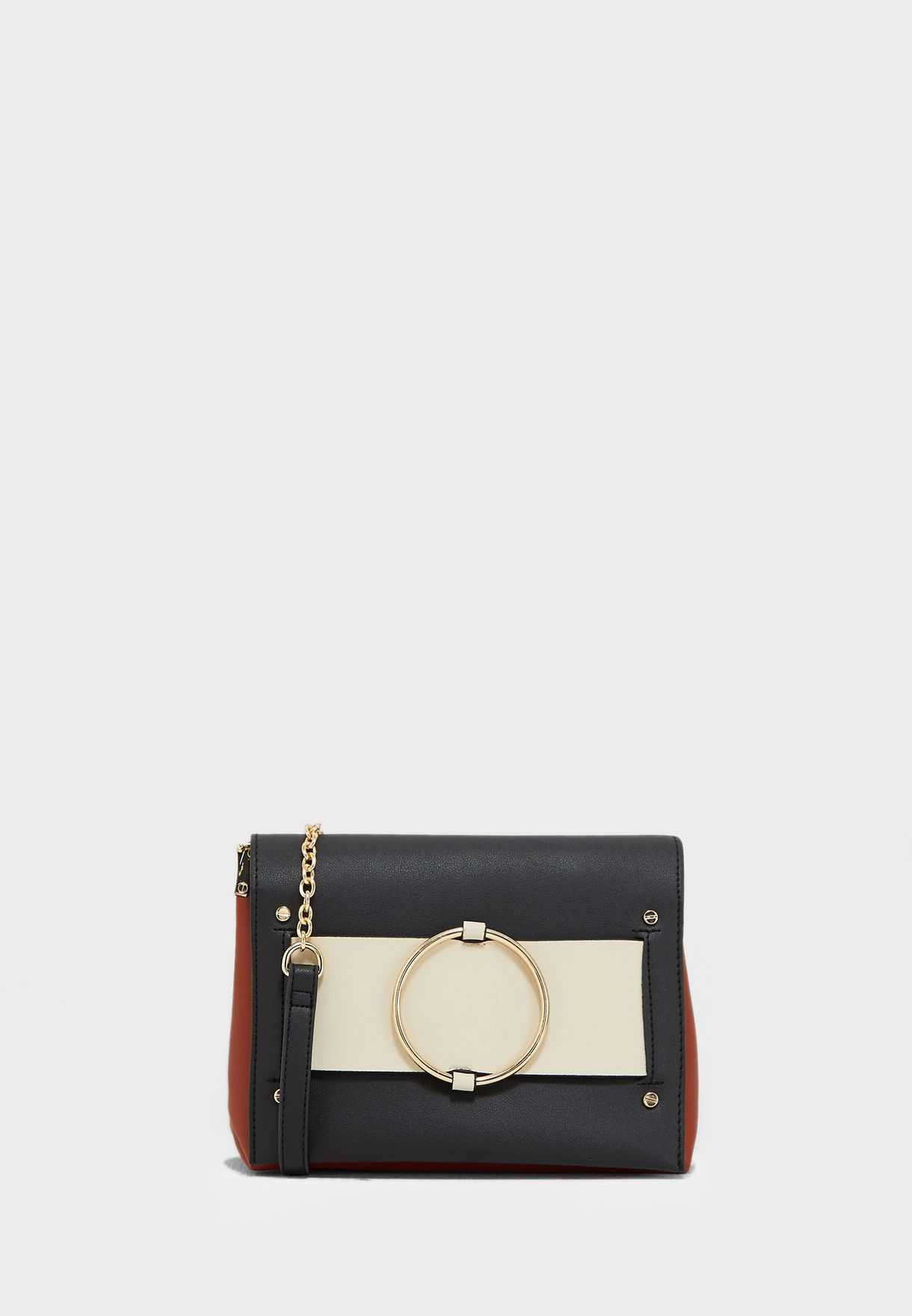 Maddy Front Ring Detail Crossbody