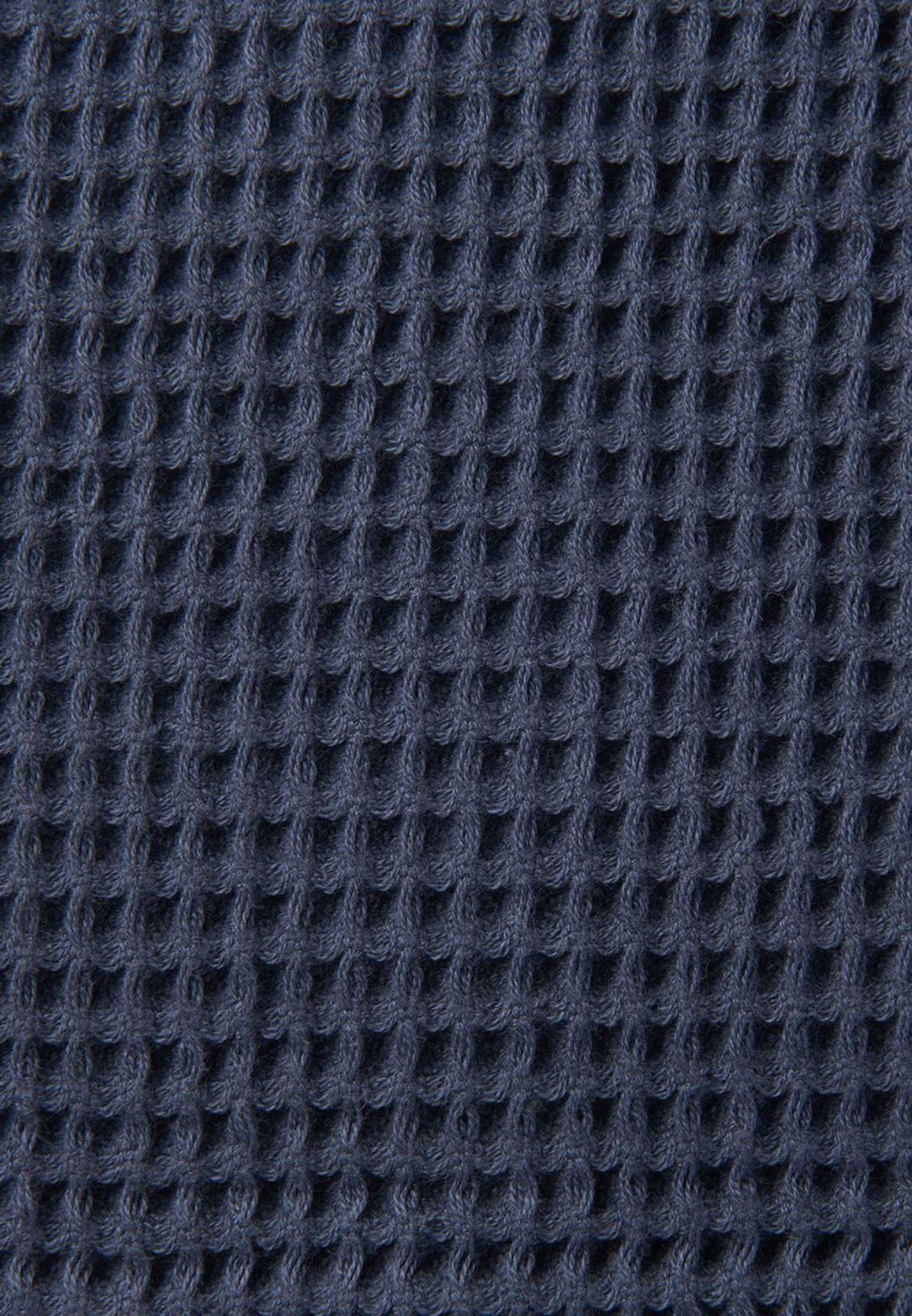 Cotton Waffle Small Bath Towel 60x120cm