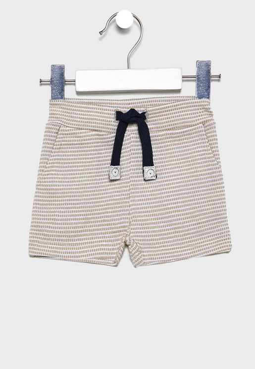 Kids Striped Shorts