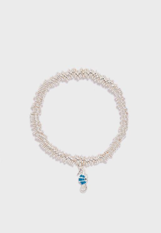 Candy Seahorse Charm Bracelet