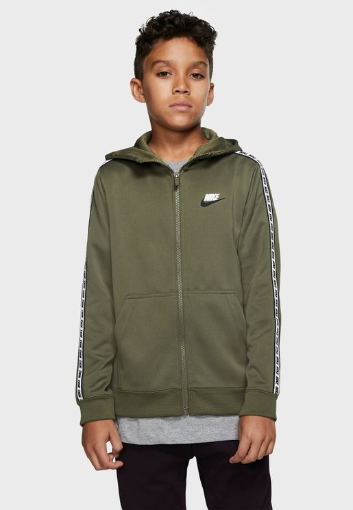 Youth Nsw Repeat Poly Hoodie