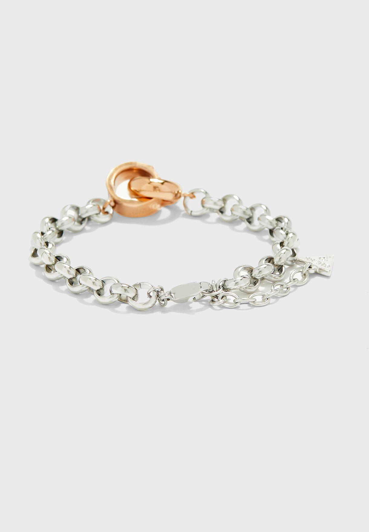 Embrace Chain Bracelet
