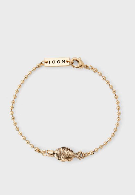 Conversational Soy Fish Bracelet