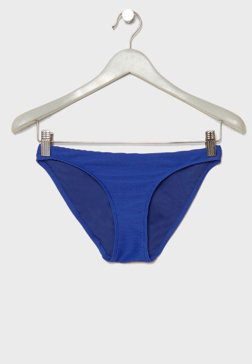 Miami Ribbed Bikini Bottom
