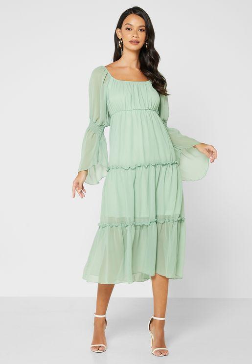 فستان طبقات