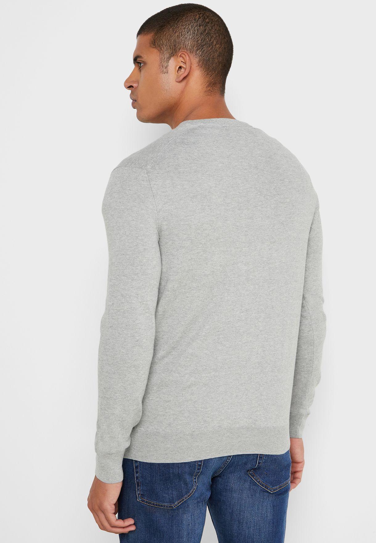 Chest Logo Sweater