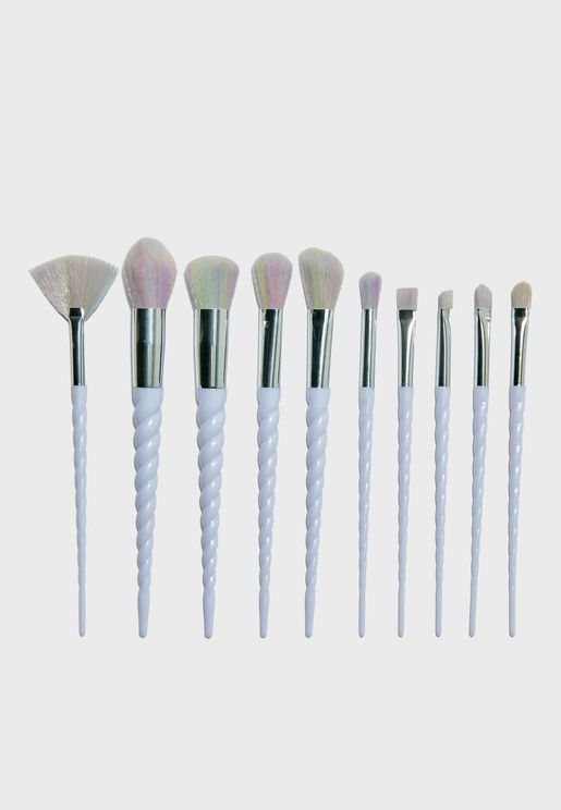 Unicorn Make-Up Brush Set