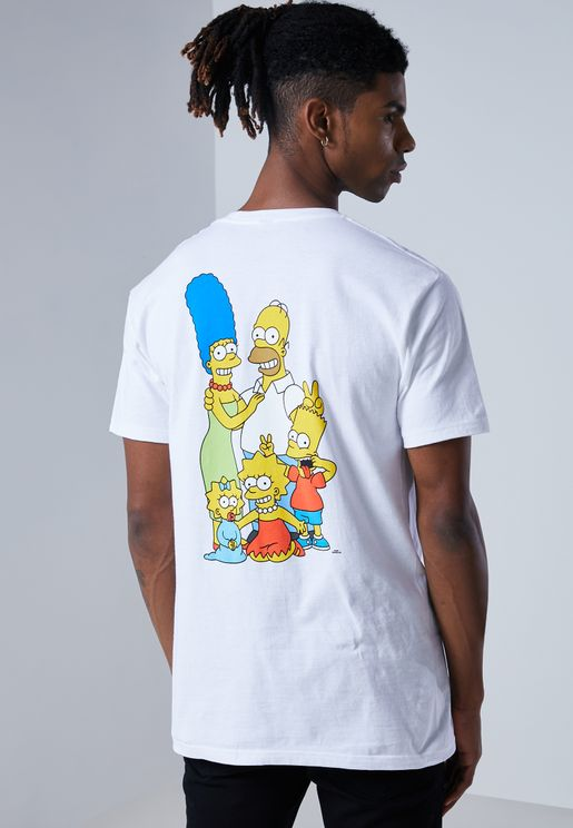 Simpsons Logo T-Shirt