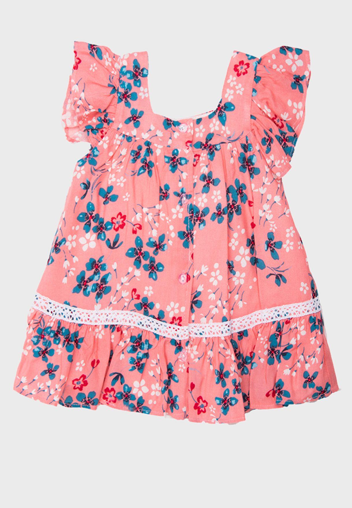 فستان مطبع للبيبي