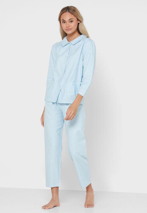 Long Sleeved Pyjama Set