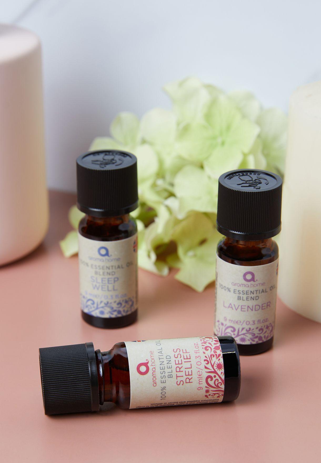 Set Of 3 Favourites Essential Oils