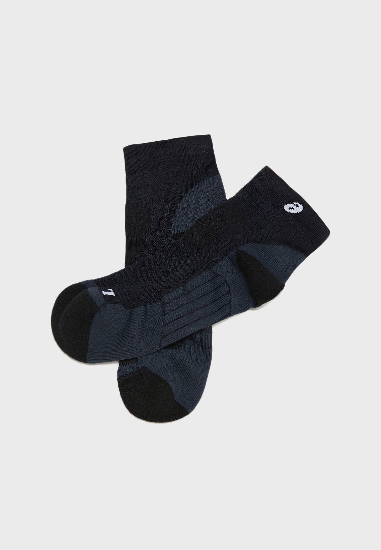 Road Quarter Socks