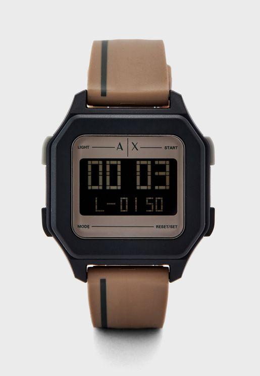 AX2954 Shell Digital Watch