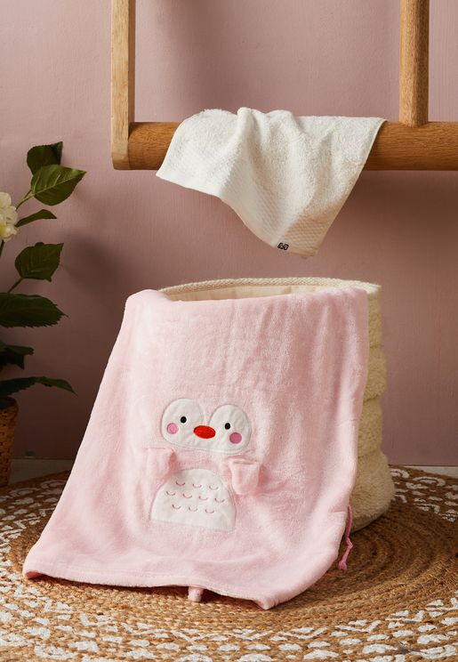 Shaped Hooded Towel