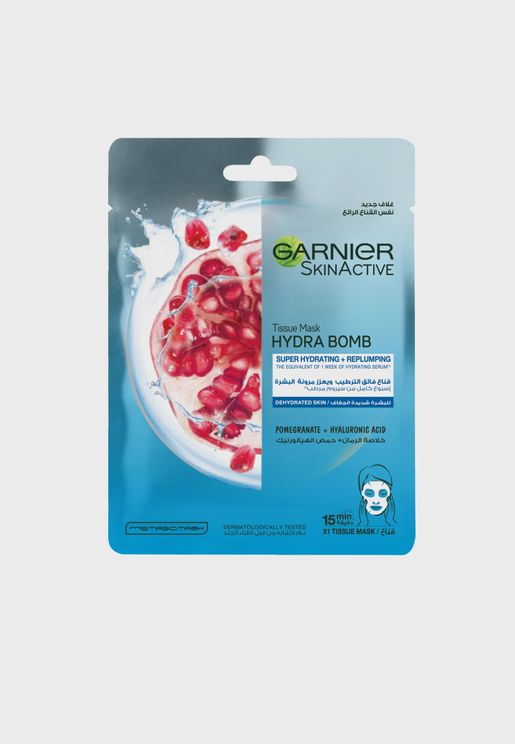Pomegranate Hydrating Face Tissue Mask