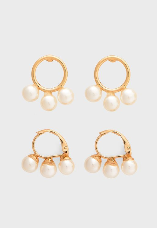 Brecia Earrings 2-Pack