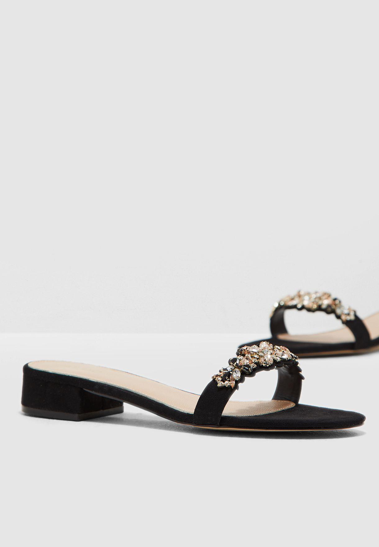 6ffaa7ed90f Shop Aldo black Eraesa Sandal ERAESA98 for Women in UAE - 17704SH63BQP