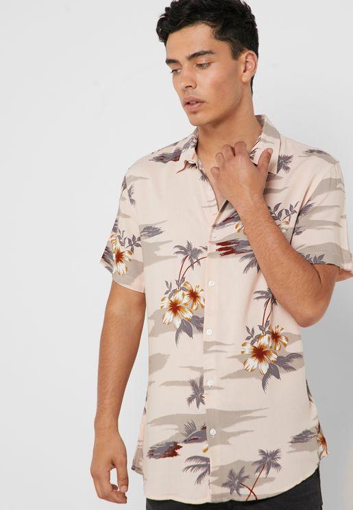 Hawaiian Viscose Shirt