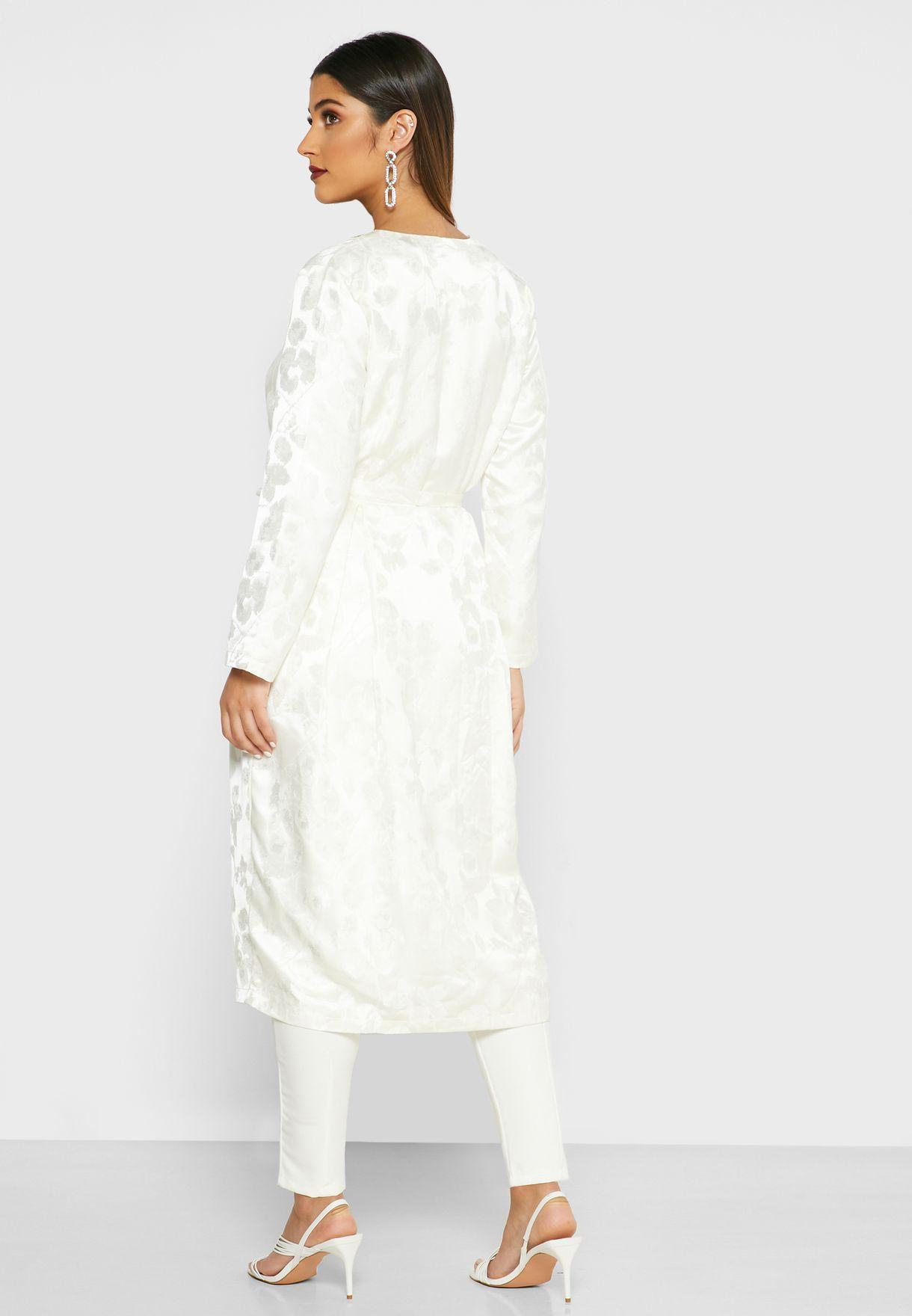 Jacquard Long Jacket